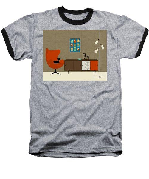 Orla Kiely Cabinet Baseball T-Shirt