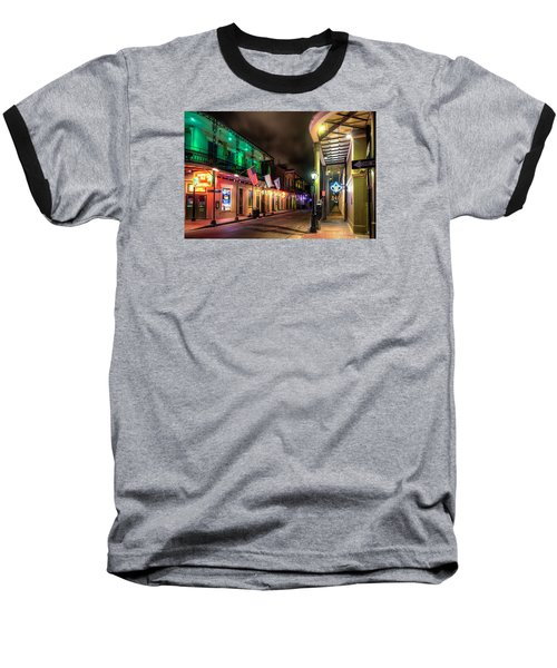 Baseball T-Shirt featuring the photograph Orleans And Bourbon by Tim Stanley