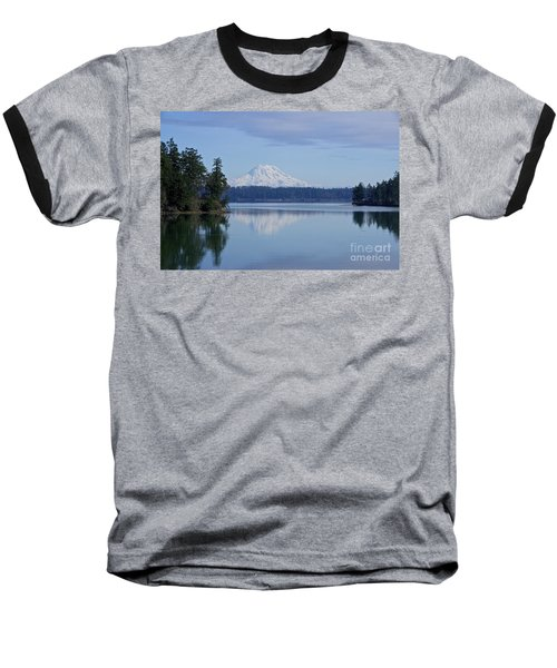 Oro Bay Reflection Baseball T-Shirt by Sean Griffin