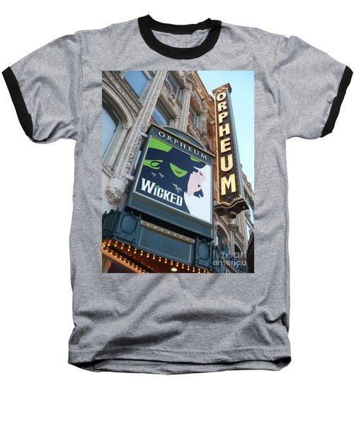 Orpheum Sign Baseball T-Shirt