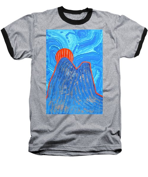 Os Dois Irmaos Original Painting Sold Baseball T-Shirt by Sol Luckman