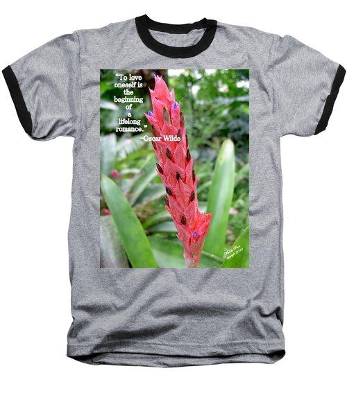 Oscar Wilde Baseball T-Shirt