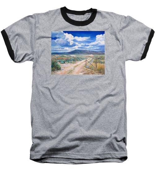 Osceola Nevada Ghost Town Baseball T-Shirt by Donna Tucker