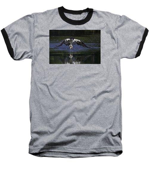 Osprey Bird Of Prey Baseball T-Shirt
