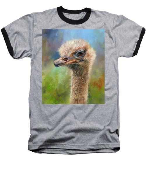 Ostrich Baseball T-Shirt