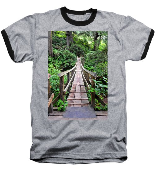 Oswald Swinging Bridge  Baseball T-Shirt