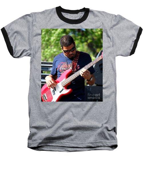 Oteil Burbridge Baseball T-Shirt by Angela Murray