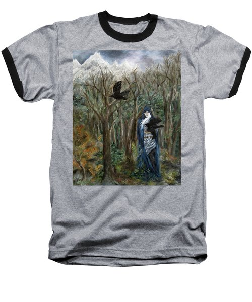 The Raven God Baseball T-Shirt