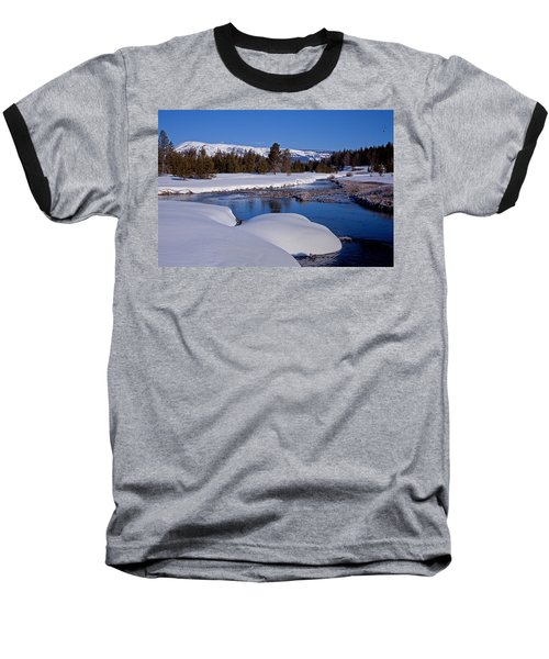 Baseball T-Shirt featuring the photograph Otter Creek by Jack Bell
