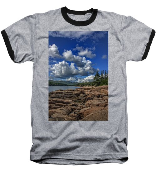 Otter Point Afternoon Baseball T-Shirt