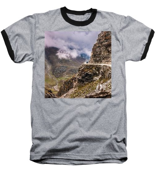 Our Bus Journey Through The Himalayas Baseball T-Shirt