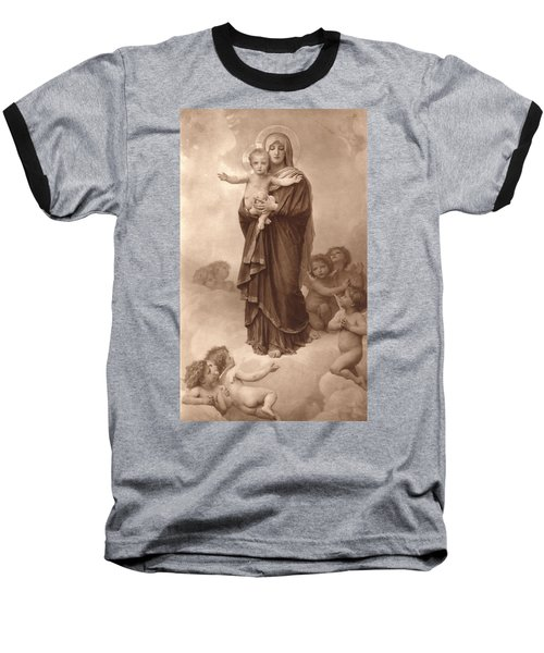 Our Lady Of The Angels Baseball T-Shirt