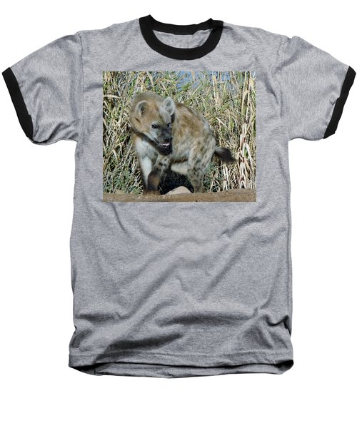 Out Of Africa  Hyena 2 Baseball T-Shirt