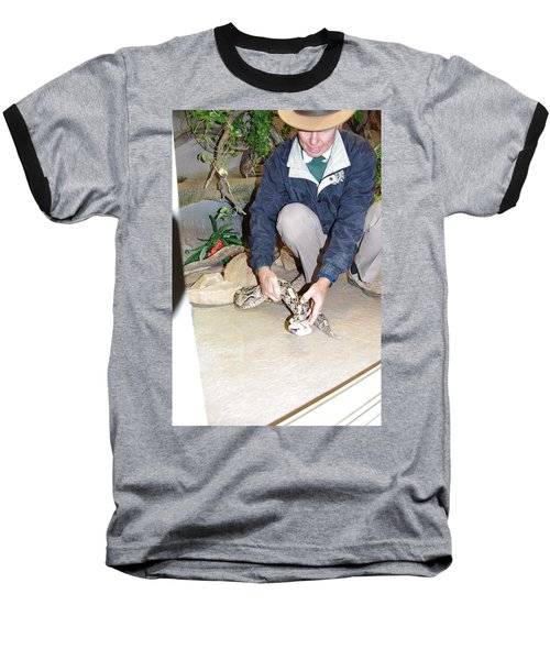 Out Of Africa Viper 1 Baseball T-Shirt