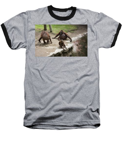 Baseball T-Shirt featuring the photograph Out Of Reach by Lynn Palmer