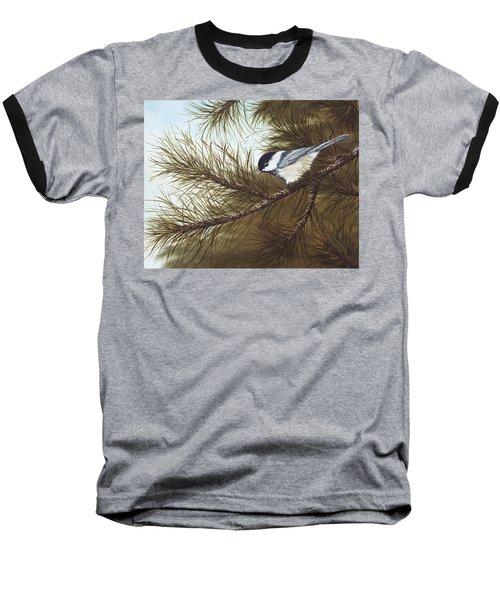 Out On A Limb Baseball T-Shirt by Rick Bainbridge