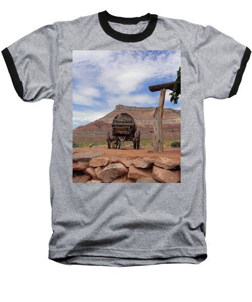 Out West Baseball T-Shirt by Natalie Ortiz