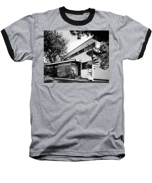 Outdoor Spiral Staircase To The Roof-deck Of Mr Baseball T-Shirt
