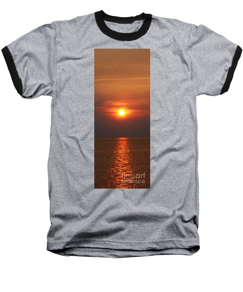 Baseball T-Shirt featuring the photograph Outer Banks Sunset by Tony Cooper