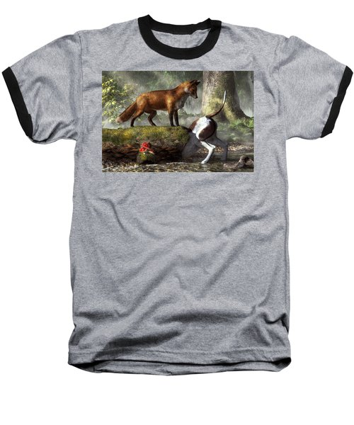 Outfoxed Baseball T-Shirt