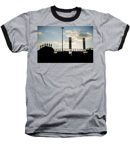 Outside Comiskey Park Baseball T-Shirt