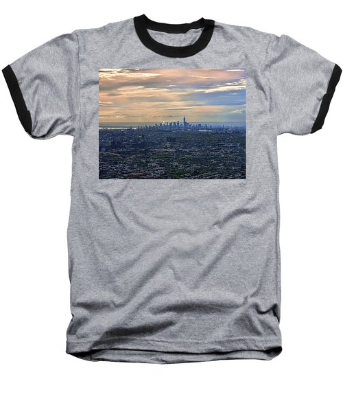 Over East New York Baseball T-Shirt