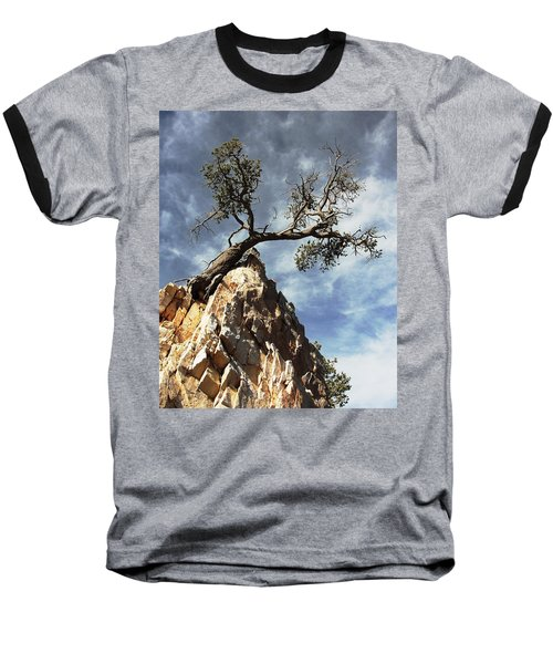 Baseball T-Shirt featuring the photograph Hung Over by Natalie Ortiz