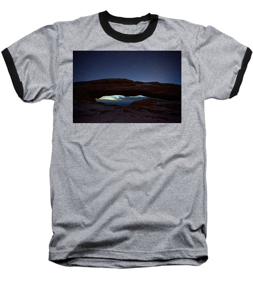 Baseball T-Shirt featuring the photograph Over The Arch by David Andersen