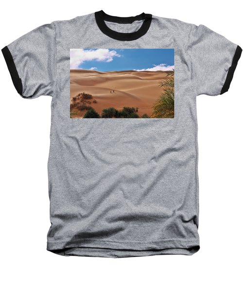 Over The Dunes Baseball T-Shirt