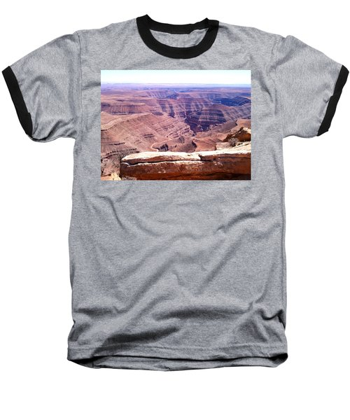 Overlook Into The Layers Of Time Baseball T-Shirt by Fortunate Findings Shirley Dickerson