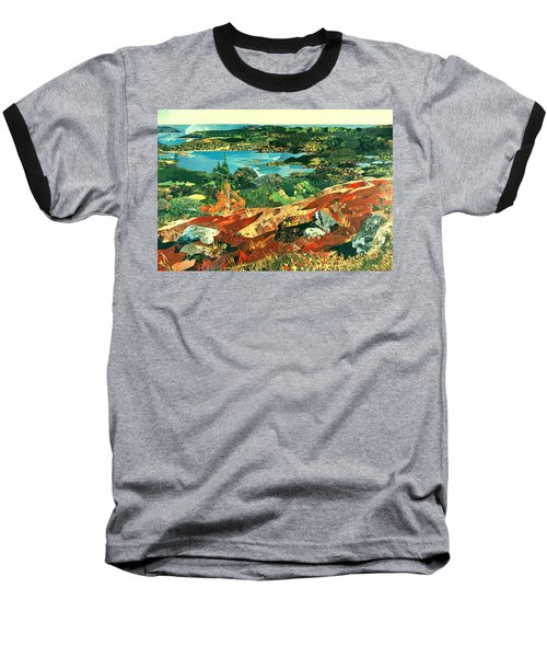 Overlooking The Bay Baseball T-Shirt