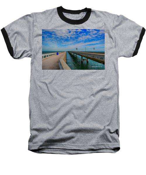 Overseas Highway Florida Keys Baseball T-Shirt