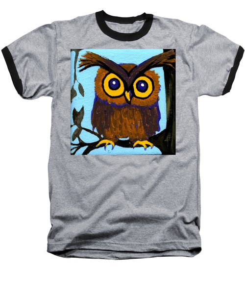 Owlette Baseball T-Shirt by Genevieve Esson