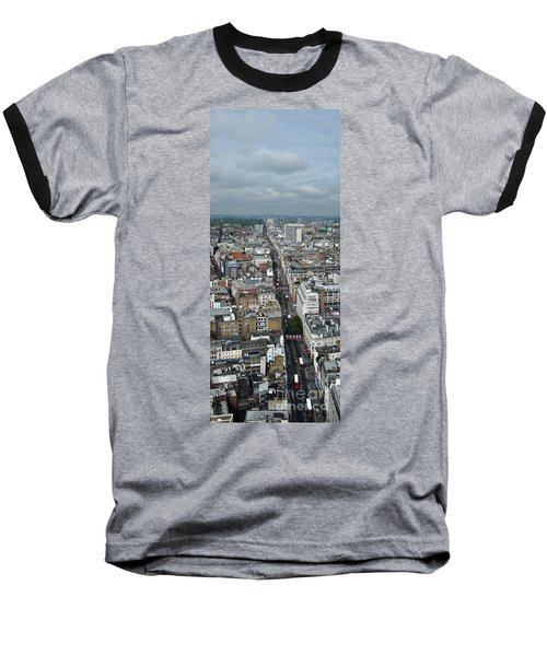 Oxford Street Vertical Baseball T-Shirt by Matt Malloy