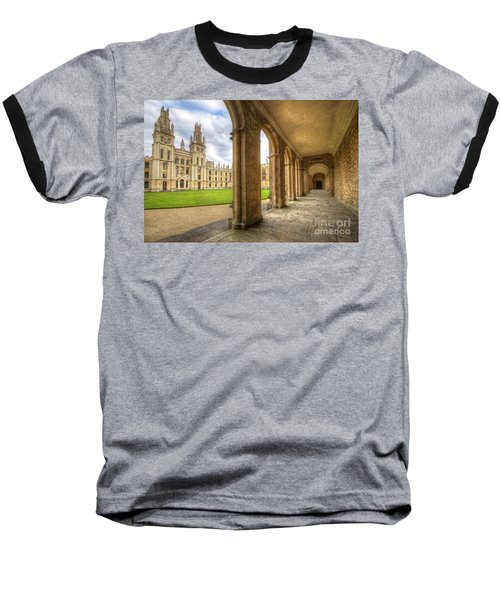 Oxford University - All Souls College 2.0 Baseball T-Shirt