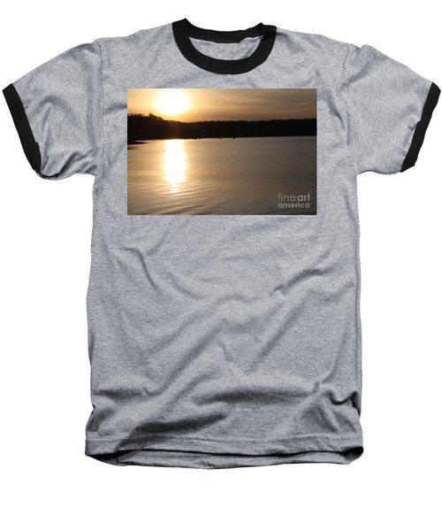 Oyster Bay Sunset Baseball T-Shirt