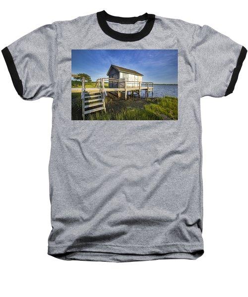 Oysterponds Creek Orient Ny Baseball T-Shirt