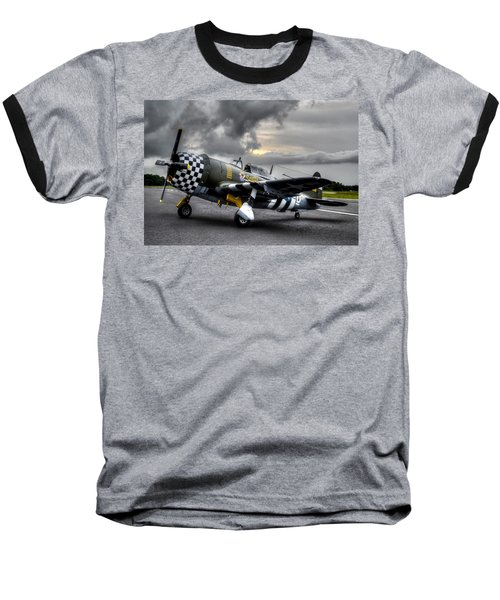 P-47 Sunset Baseball T-Shirt