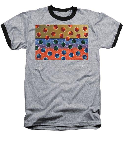 Pacman Zombies Awaking At Sun-rise Baseball T-Shirt by Jeremy Aiyadurai