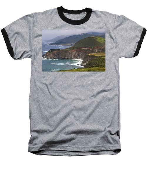 Pacific Coast View Baseball T-Shirt