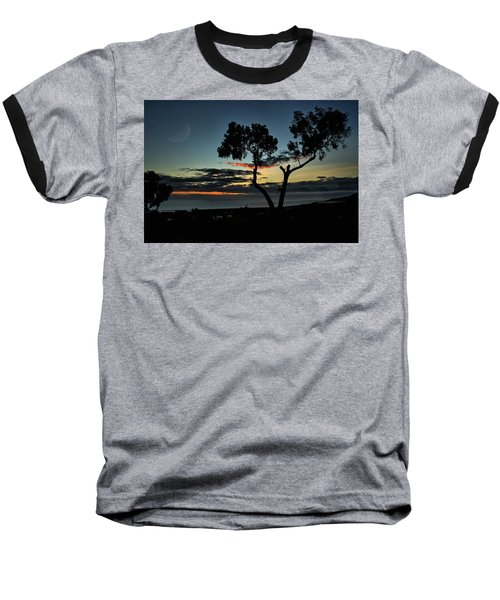 Baseball T-Shirt featuring the photograph Pacific Evening by Michael Gordon