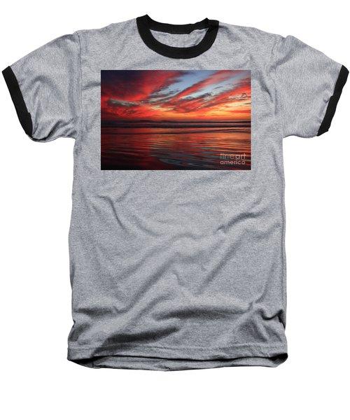 Oceanside Reflections Baseball T-Shirt