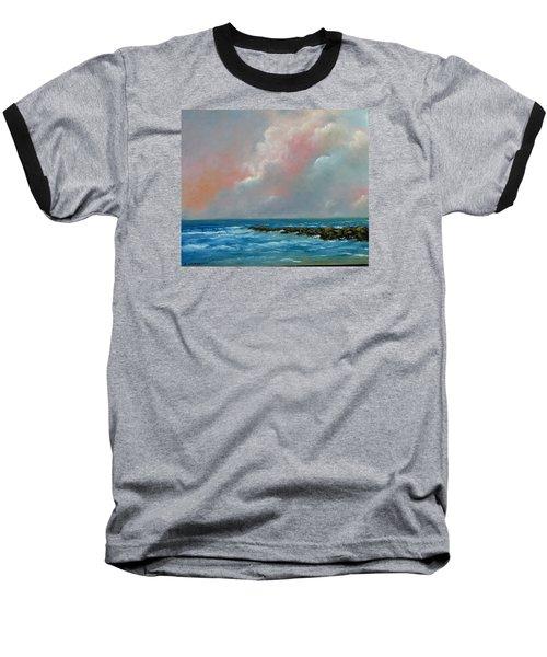 Pacific Sunset Baseball T-Shirt