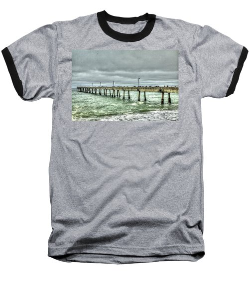 Pacifica Municipal Fishing Pier 7 Baseball T-Shirt