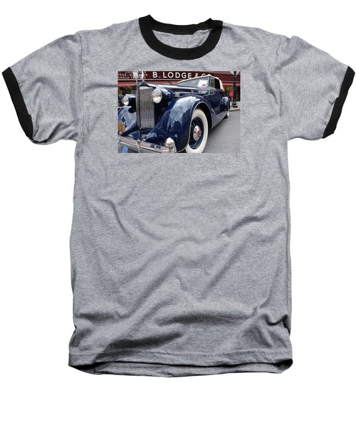 Baseball T-Shirt featuring the photograph Packard 1207 Convertible 1935 by John Schneider