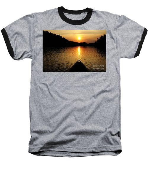 Paddling Off Into The Sunset Baseball T-Shirt