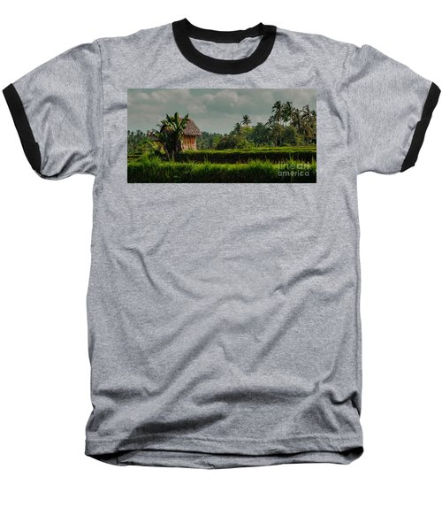 Paddy Fields Baseball T-Shirt