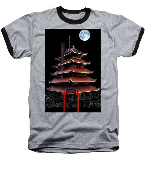 Pagoda Baseball T-Shirt