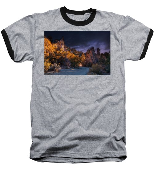 Pahrump - Road To Wheeler Peak Baseball T-Shirt