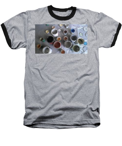 Baseball T-Shirt featuring the photograph Paint by Chris Tarpening